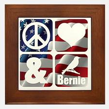 Unique Democratic presidents Framed Tile