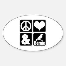 Cute Funny democrat Sticker (Oval)