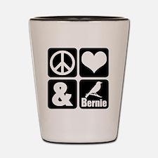 Cool Democrat liberal democratic Shot Glass