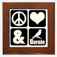 Funny Democratic presidents Framed Tile