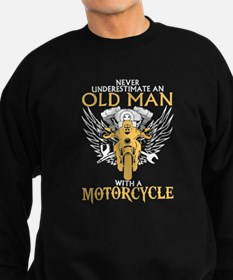 Never Underestimate Old Man With Sweatshirt