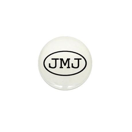 JMJ Oval Mini Button
