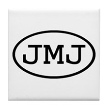 JMJ Oval Tile Coaster