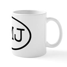 JMJ Oval Mug