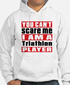 I Am Triathlon Player Hoodie