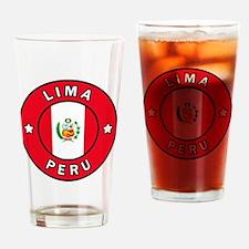 Orgullo Drinking Glass