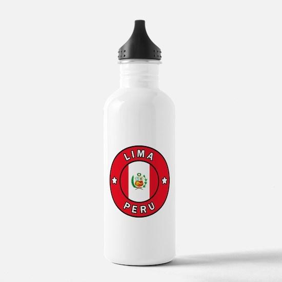 Lima Peru Water Bottle
