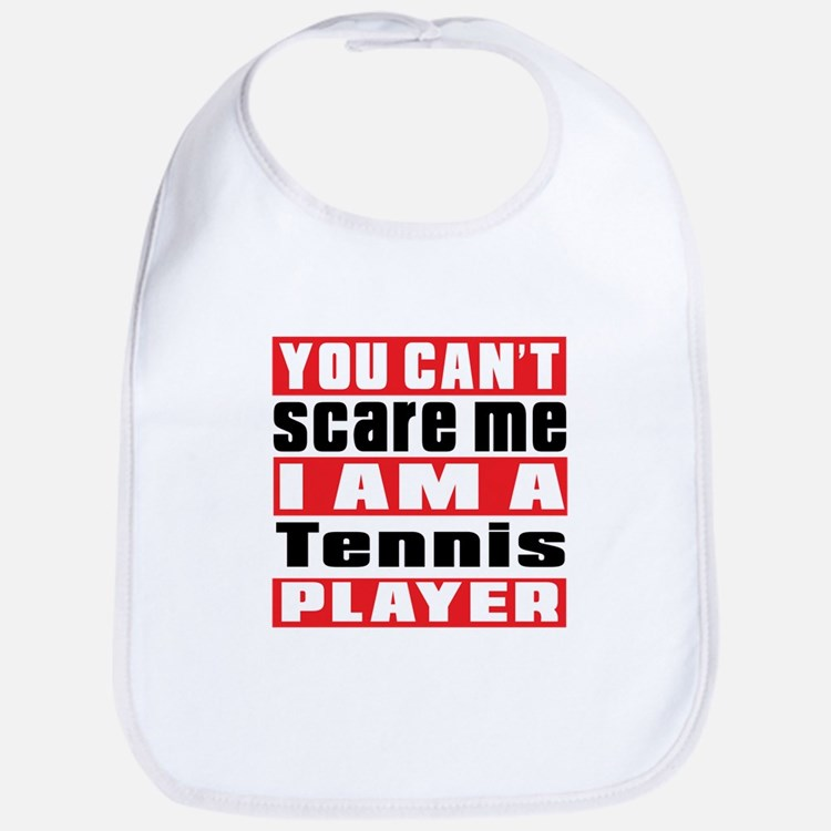 I Am Tennis Player Bib