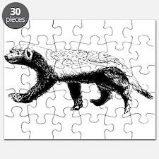Honey Badger Trott Puzzle
