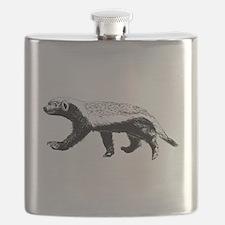 Honey Badger Trott Flask