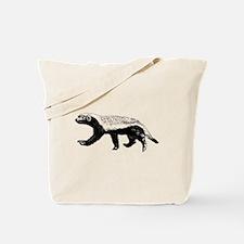 Honey Badger Trott Tote Bag