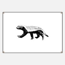 Honey Badger Trott Banner