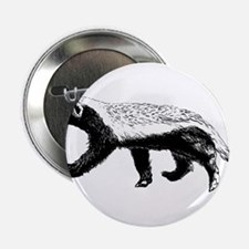 "Honey Badger Trott 2.25"" Button"