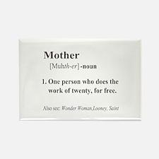 Mother Definition Rectangle Magnet