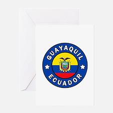 Guayaquil Ecuador Greeting Cards