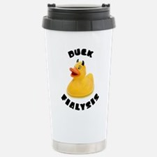 Duck Fialysis Travel Mug