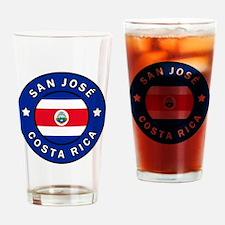 Funny I love san jose Drinking Glass