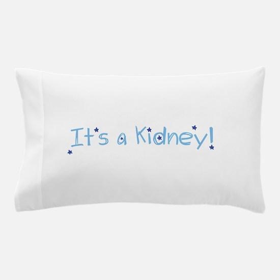Its a Kidney! (blue) Pillow Case
