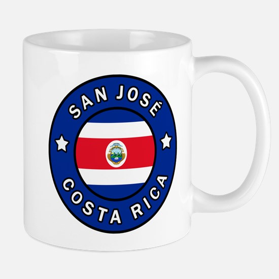 San Jose Costa Rica Mugs