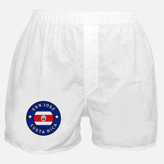 San Jose Costa Rica Boxer Shorts