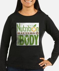 Nutrition-Matters-10in Long Sleeve T-Shirt