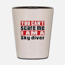 I Am Sky diving Player Shot Glass