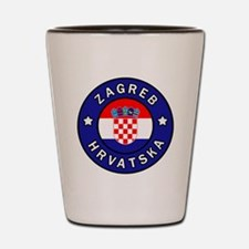 Cute Zagreb Shot Glass