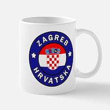 Zagreb Hrvatska Mugs