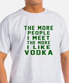 I Like Vodka T-Shirt