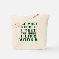 I Like Vodka Tote Bag