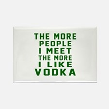I Like Vodka Rectangle Magnet