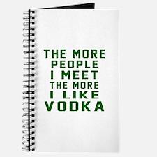 I Like Vodka Journal