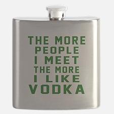 I Like Vodka Flask