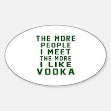 I Like Vodka Decal