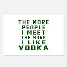 I Like Vodka Postcards (Package of 8)