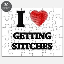 I love Getting Stitches Puzzle