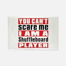I Am Shuffleboard Player Rectangle Magnet