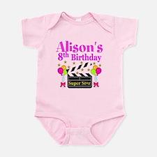 HAPPY 8TH Infant Bodysuit