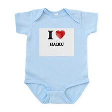 I love Haiku Body Suit