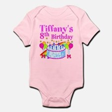 HAPPY 8TH Infant Bodysuit