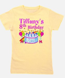 HAPPY 8TH Girl's Tee