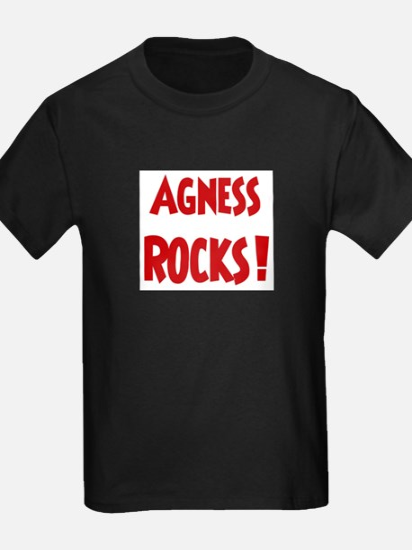 Agness Rocks Ash Grey T-Shirt