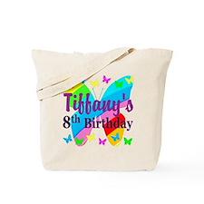 HAPPY 8TH Tote Bag