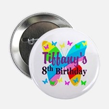 "HAPPY 8TH 2.25"" Button"