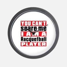 I Am Racquetball Player Wall Clock