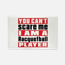 I Am Racquetball Player Rectangle Magnet