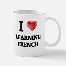 I love Learning French Mugs