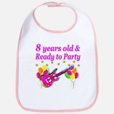8TH BIRTHDAY Bib