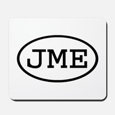 JME Oval Mousepad