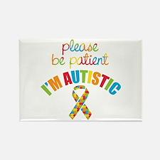 I'm Autistic Rectangle Magnet (10 pack)